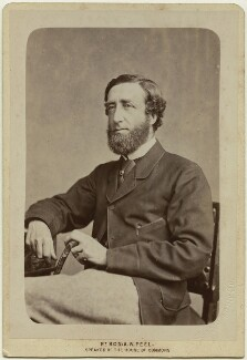 Arthur Wellesley Peel, 1st Viscount Peel, by Thomas James Harrison, for  London Stereoscopic & Photographic Company - NPG x46638