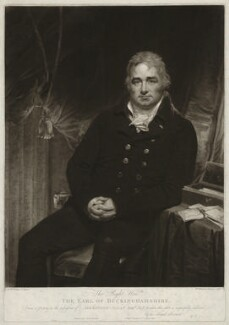 Robert Hobart, 4th Earl of Buckinghamshire, by William Whiston Barney, after  Sir William Beechey - NPG D32307