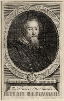 Francis Beaumont, by George Vertue - NPG D27957