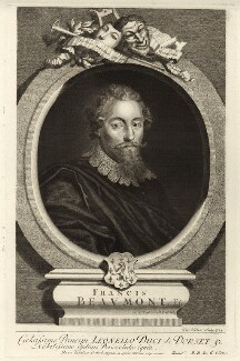 Francis Beaumont, by George Vertue - NPG D27958