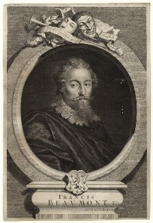 Francis Beaumont, by George Vertue - NPG D27960
