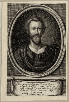John Donne, by Pierre Lombart, published 1633 - NPG D27961 - © National Portrait Gallery, London