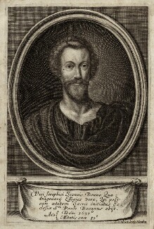John Donne, by Pierre Lombart - NPG D27962