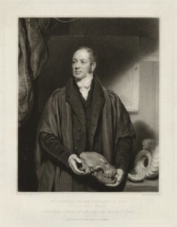 William Buckland, by Samuel Cousins, after  Thomas Phillips, published 1833 (1832) - NPG D32312 - © National Portrait Gallery, London