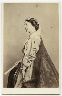 Isabella Featherstone (née Hill) (Mrs Howard Paul), by Southwell Brothers - NPG x12696
