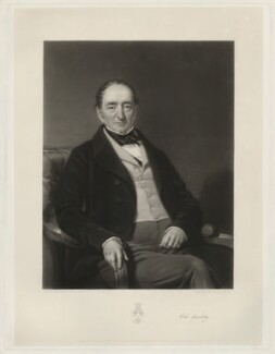 Edward Pery Buckley, by Henry Cousins, after  George Patten - NPG D32315