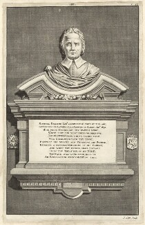 Monument to Michael Drayton, by James Cole - NPG D27969