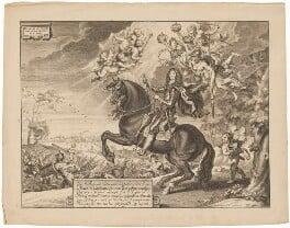 King Charles II, by Cornelis van Caukercken, after  Abraham Diepenbeeck - NPG D32294