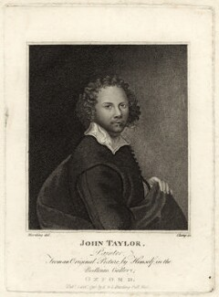 John Taylor, by R. Clamp, published by  E. & S. Harding, after  John Taylor - NPG D27987