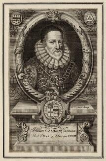 William Camden, by Michael Vandergucht - NPG D28005