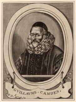 William Camden, by Nicolas de Larmessin - NPG D28006