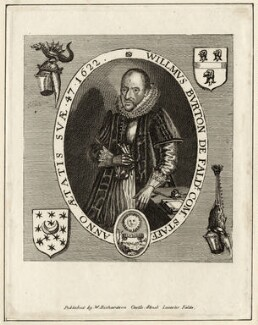 William Burton, after Francis Delaram, published by  William Richardson - NPG D28028