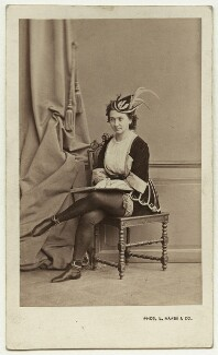 Marie-Paul Taglioni in the ballet 'Satanella', by L. Haase & Co - NPG x7807