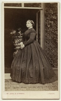 Princess Mary Adelaide, Duchess of Teck, by Thomas McLean & Co - NPG x46498