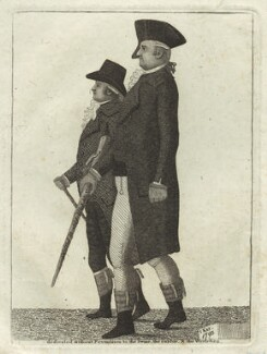 Hon. Simon Butler; Archibald Hamilton Rowan, by John Kay, 1793 - NPG D32338 - © National Portrait Gallery, London