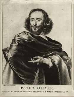 Peter Oliver, after Unknown artist, possibly after  Adriaen Hanneman - NPG D28052