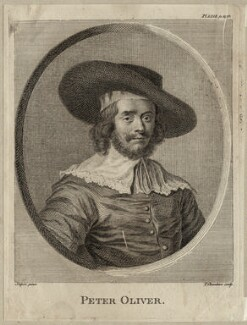 Peter Oliver, by Thomas Chambers (Chambars), after  Peter Oliver - NPG D28053
