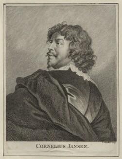 Cornelius Johnson (Cornelius Janssen van Ceulen), by Thomas Chambers (Chambars) - NPG D28055
