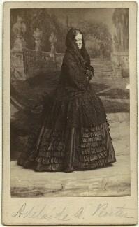 Adelaide Anne ('Mary Berick') Procter, by Herbert Watkins - NPG x12772