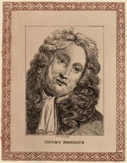 Hendrik Hondius (Hond), by John Girtin - NPG D28061