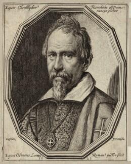 Cristoforo Roncalli, by Ottavio Maria Leoni - NPG D28063
