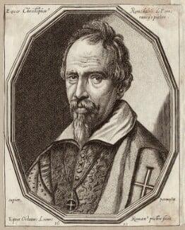 Cristoforo Roncalli, by Ottavio Maria Leoni - NPG D28065