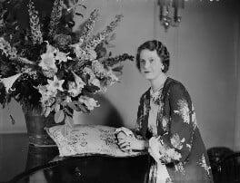 Gwendolen Jane (née Armstrong-Jones), Lady Buckley, by Bassano Ltd - NPG x152247