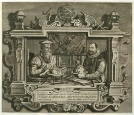Gerardus Mercator and Jodocus Hondius, after Unknown artist - NPG D28070