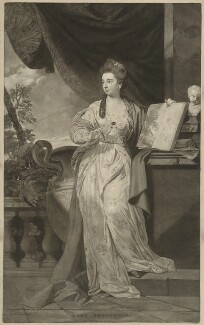 Mary (née Hill), Lady Broughton-Delves, by Thomas Watson, after  Sir Joshua Reynolds - NPG D32367