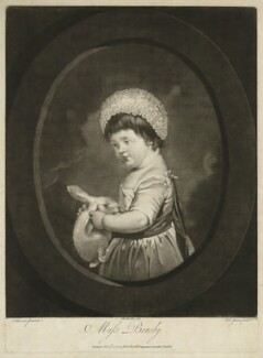 Miss Brusby, by Valentine Green, after  Pierre-Étienne Falconet - NPG D32368