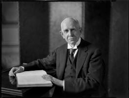 Hugh Richard Heathcote Gascoyne-Cecil, Baron Quickswood, by Bassano Ltd - NPG x152262