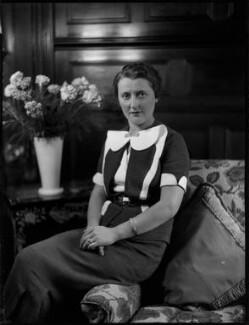 Louise Renée (née Rol), Lady Voules, by Bassano Ltd - NPG x152268
