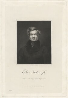Charles Buller, by Edward Scriven, after  Bryan Edward Duppa - NPG D32375