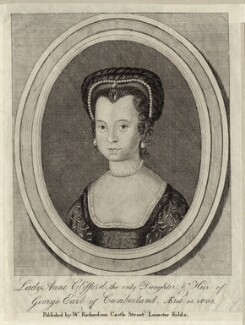 Anne, Countess of Pembroke (Lady Anne Clifford), published by William Richardson - NPG D28104