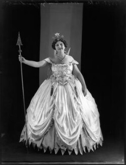 Evelyn Gardiner (née Enid Griffin) as The Fairy Queen in 'Iolanthe', by Bassano Ltd - NPG x152281