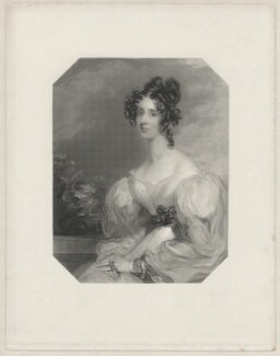 Lady Elizabeth Bulteel (née Grey), by Henry Bryan Hall, after  Frederick Richard Say - NPG D32379