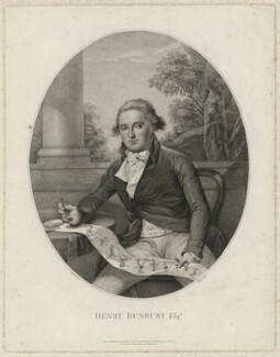 Henry William Bunbury, by and published by Thomas Ryder, published by  S. Watts, after  Sir Thomas Lawrence - NPG D32380