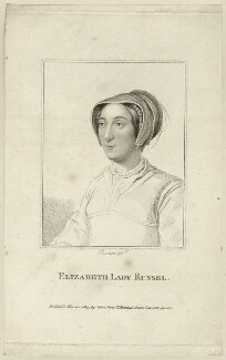 Elizabeth Russell (née Cooke), Lady Russell, by Rivers - NPG D28113
