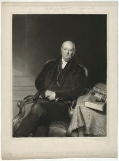 Jabez Bunting, by Samuel William Reynolds Jr, after  John Bostock - NPG D32389
