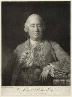David Hume, by and published by David Martin, after  Allan Ramsay - NPG D32392