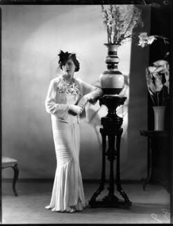 Mary Barbara Child-Villiers (née Frampton), by Bassano Ltd - NPG x152288