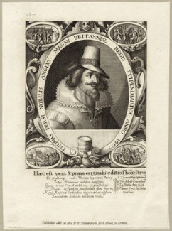 Thomas Percy, published by William Richardson, after  Crispijn de Passe the Elder - NPG D28142