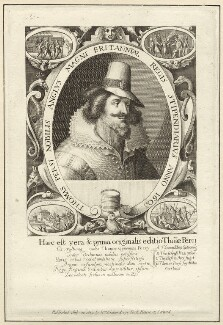 Thomas Percy, published by William Richardson, after  Crispijn de Passe the Elder - NPG D28143