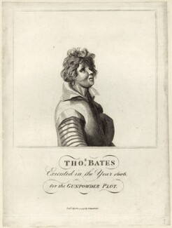 Thomas Bates, by Adam, published by  James Caulfield - NPG D28151