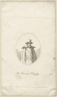 Sir Everard Digby, by Unknown artist - NPG D28156