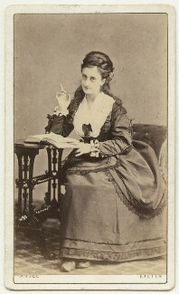 Mary Frances Scott-Siddons, by Owen Angel - NPG x22579