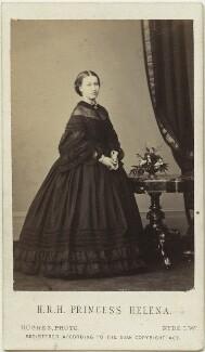 Princess Helena Augusta Victoria of Schleswig-Holstein, by (Cornelius) Jabez Hughes - NPG x36352