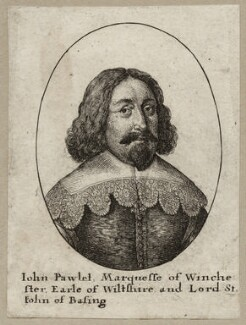 John Paulet, 5th Marquess of Winchester, by Wenceslaus Hollar - NPG D28167