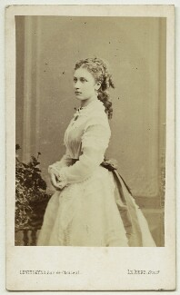 Princess Louise Caroline Alberta, Duchess of Argyll, by Augustin Aimé Joseph Le Jeune - NPG x36350
