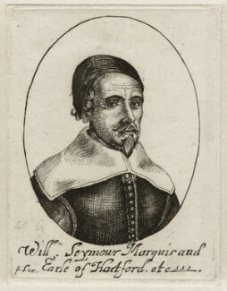 William Seymour, 2nd Duke of Somerset, after Unknown artist, published by  Peter Stent - NPG D28171